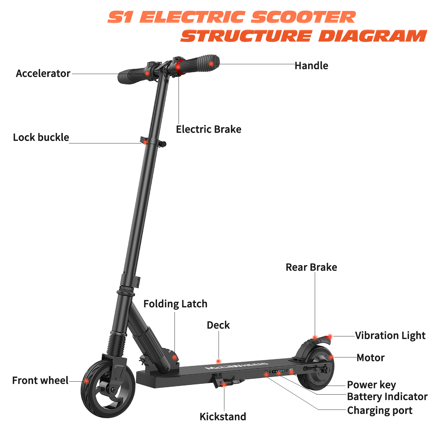 Folding Electric Scooter 250w 14mph Aluminum Portable City