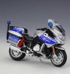 1 18 maisto bmw r1200rt germany police motorcycle model toy [ 1024 x 855 Pixel ]