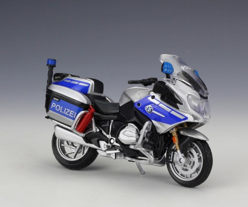 small resolution of 1 18 maisto bmw r1200rt germany police motorcycle model toy