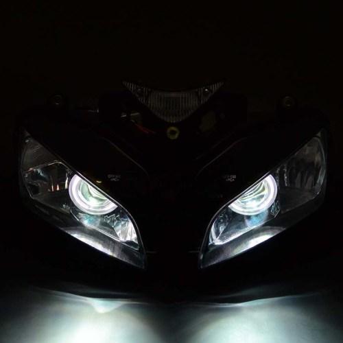 small resolution of lighting indicators headlight assembly halo ring angel eye hid projector ballast honda cbr1000 04 07