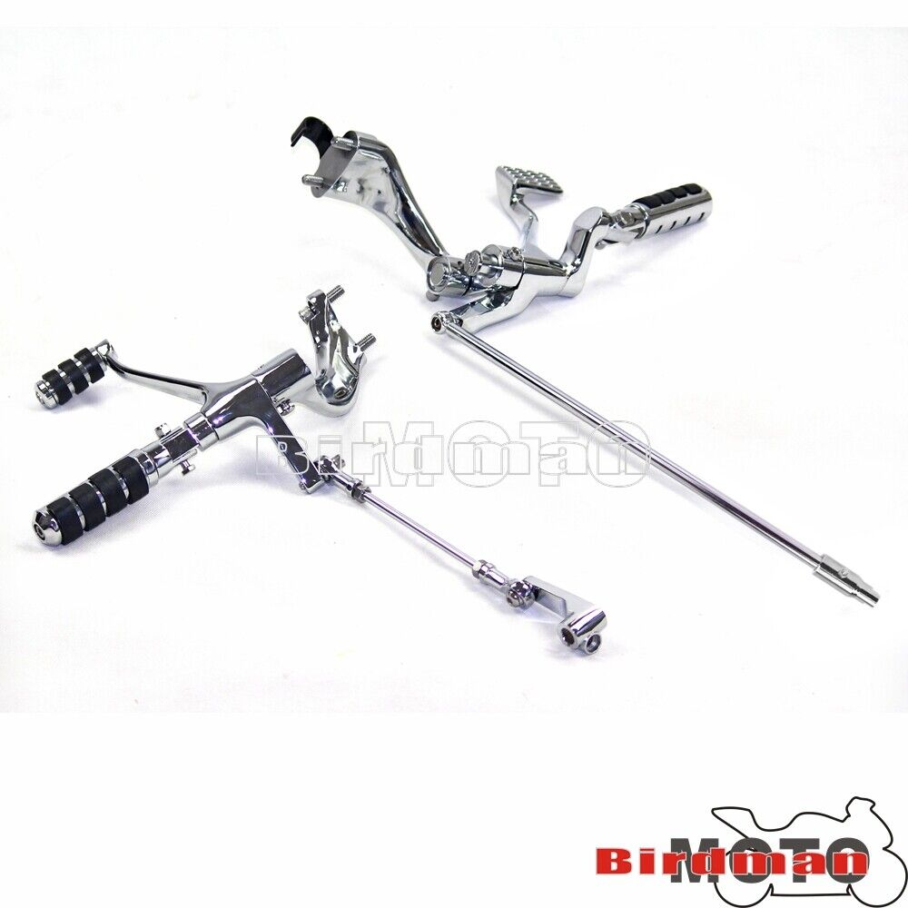 Foot Pegs Footrest Forward Controls Kit For 2006-11 Harley
