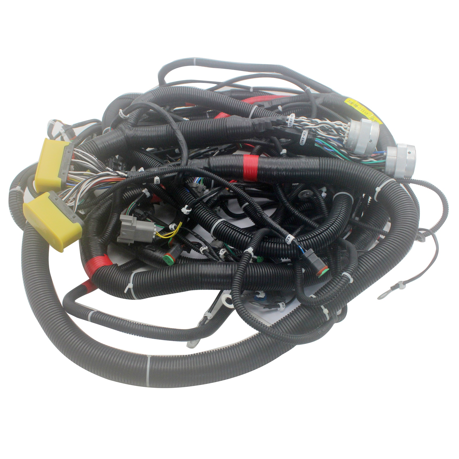 hight resolution of details about pc400 7 450 7 main wiring harness 208 06 71113 71112 for komatsu excavator cable