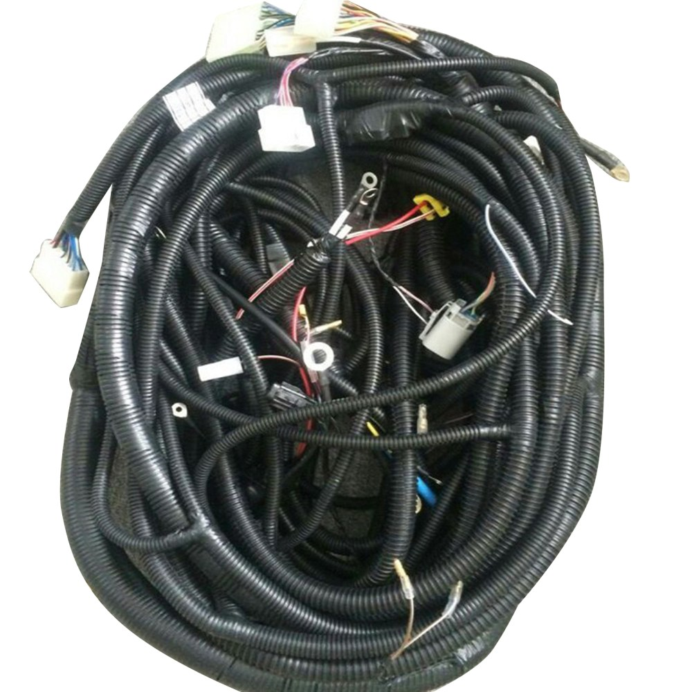 medium resolution of details about complete wiring harness for daewoo doosan dh215 7 excavator outer and inner
