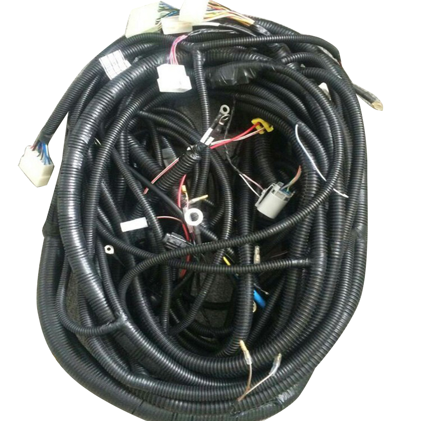 hight resolution of details about complete wiring harness for daewoo doosan dh215 7 excavator outer and inner