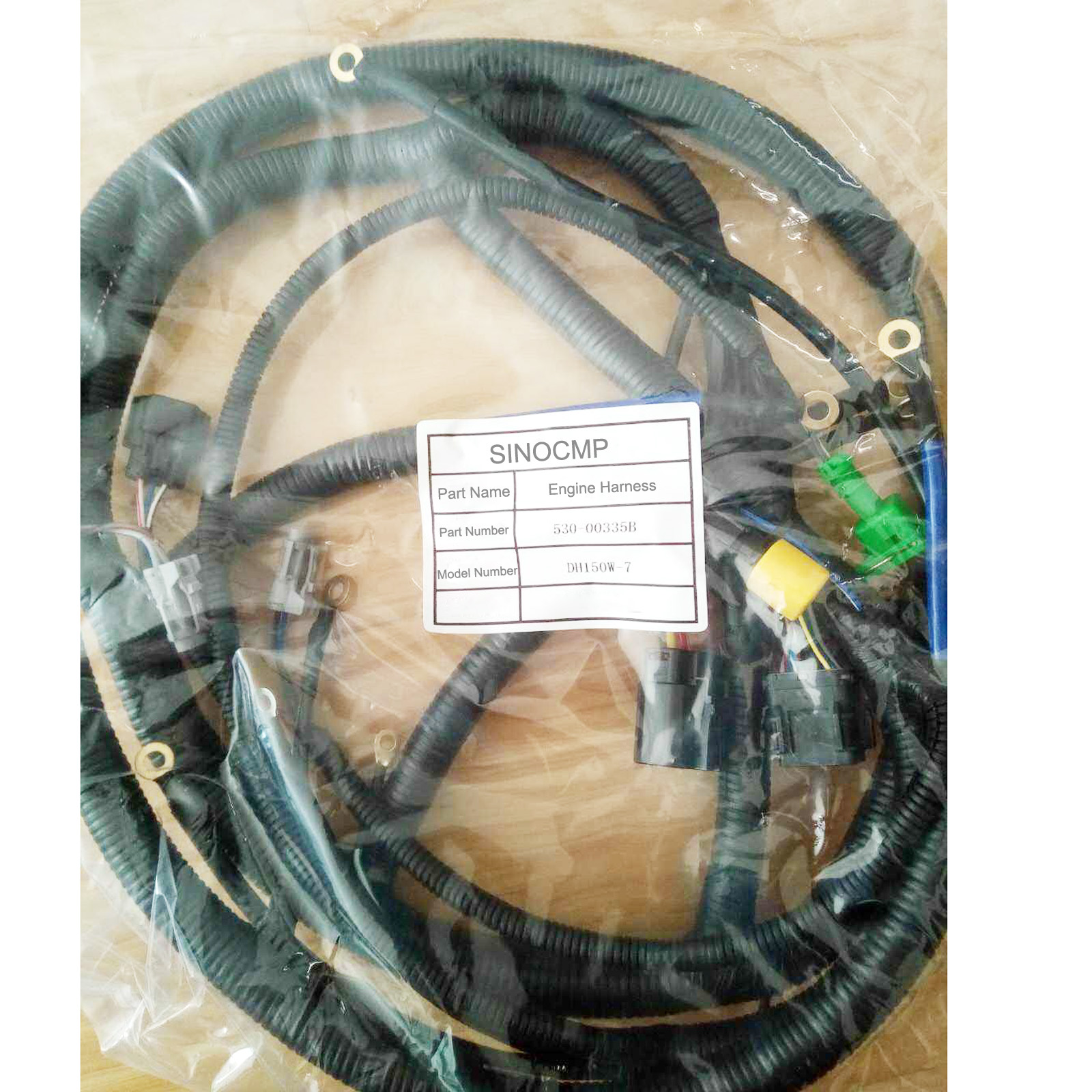 hight resolution of details about engine wiring harness 2530 1608b for daewoo doosan dh220 5 excavator