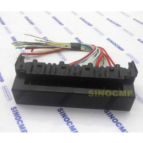 small resolution of details about pc200 6 pc210 6 pc300 6 excavator fuse box assembly for komatsu