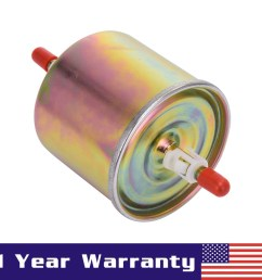 fuel filter fg800a replaced by fg1060 e7dz9155a for ford escape lincoln mercury [ 1001 x 1001 Pixel ]