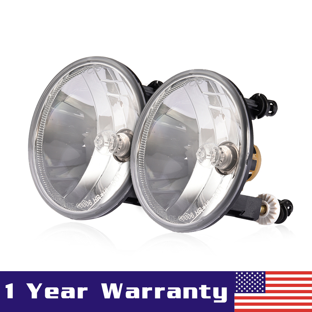 hight resolution of details about pair clear fog lights driving lamps for 07 13 chevy avalanche suburban tahoe gmc