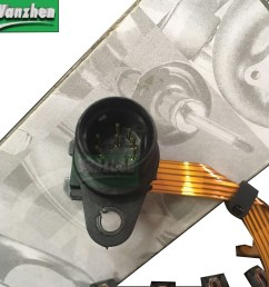 vw 097 01n g93 transmission internal wiring harness ribbon sensor wire097927365d [ 1280 x 1280 Pixel ]