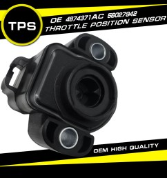 details about new tps throttle position sensor for dodge dakota jeep grand cherokee wrangler [ 1100 x 1100 Pixel ]
