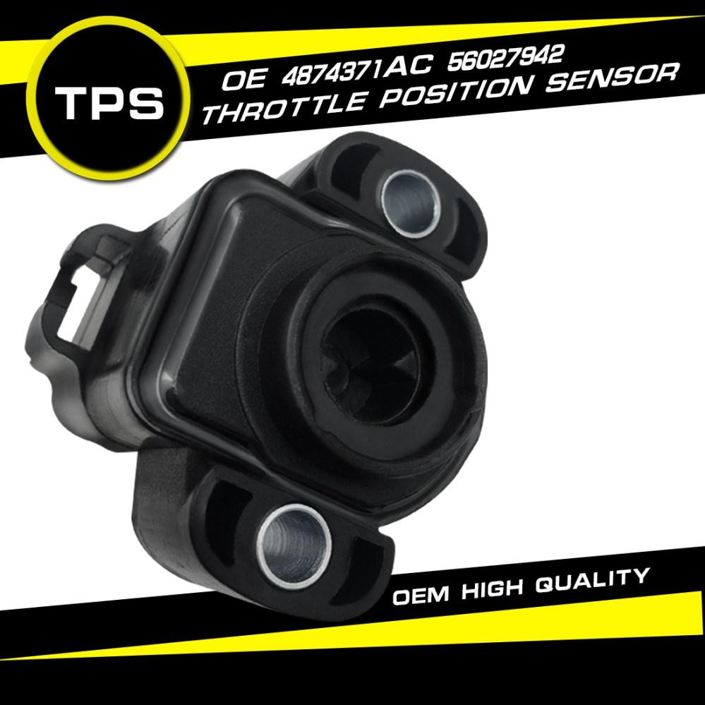 medium resolution of details about new tps throttle position sensor for dodge dakota jeep grand cherokee wrangler