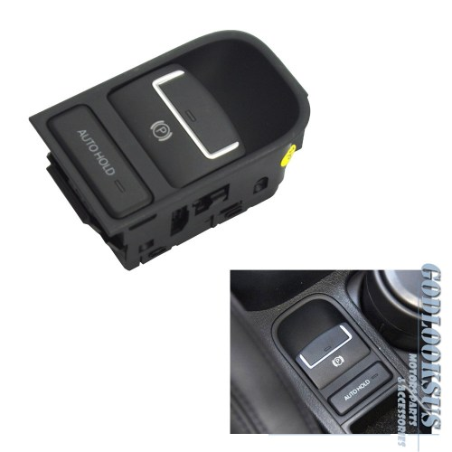 small resolution of details about for 09 12 vw volkswagen tiguan black electronic parking brake switch