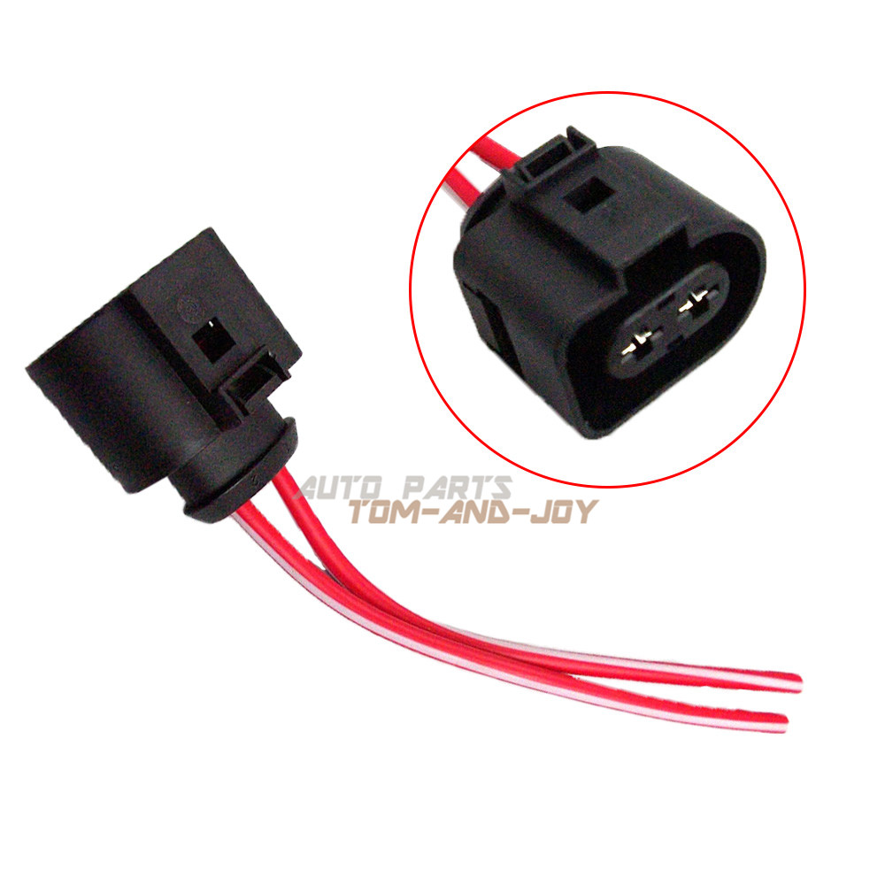 hight resolution of details about new wiring pigtail connector for heater blower motor fan for vw audi 1j0 973 752