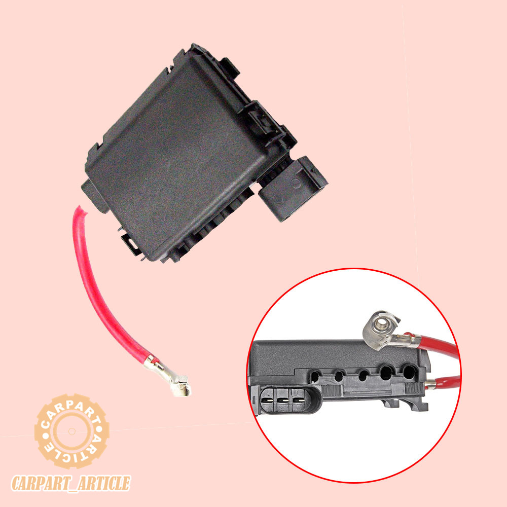 medium resolution of details about fuse box holder battery terminal w wiring for vw jetta bora golf mk4 audi a3