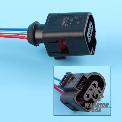 small resolution of details about 1x alarm horn cable pigtail wiring plug 3 way 1j0973703 for 05 15 vw golf jetta