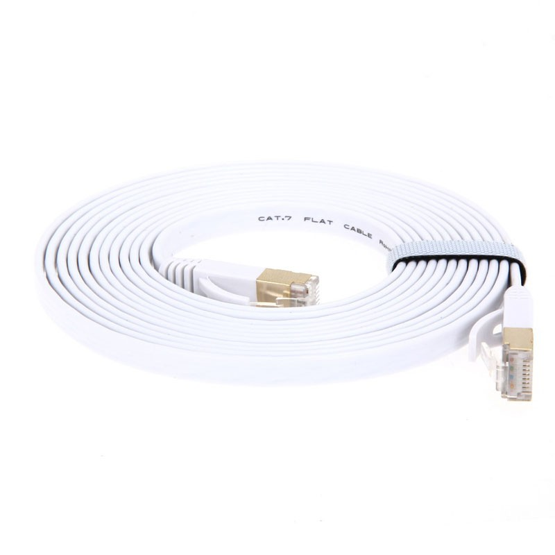 Cat7 Ethernet Cable Lan RJ45 Network Cable Cord For PC