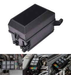 details about automotive 12 slot fuse relay holder box relay socket 6 relay 5 road for car [ 1000 x 1000 Pixel ]