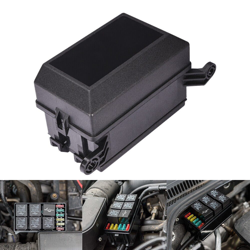 hight resolution of details about automotive 12 slot fuse relay holder box relay socket 6 relay 5 road for car