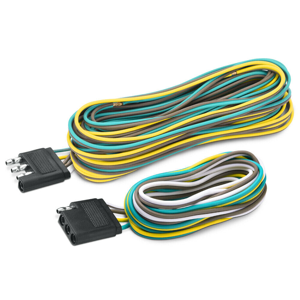 hight resolution of 25 6 4 way flat connector wishbone trailer wiring harness male trailer wiring harness