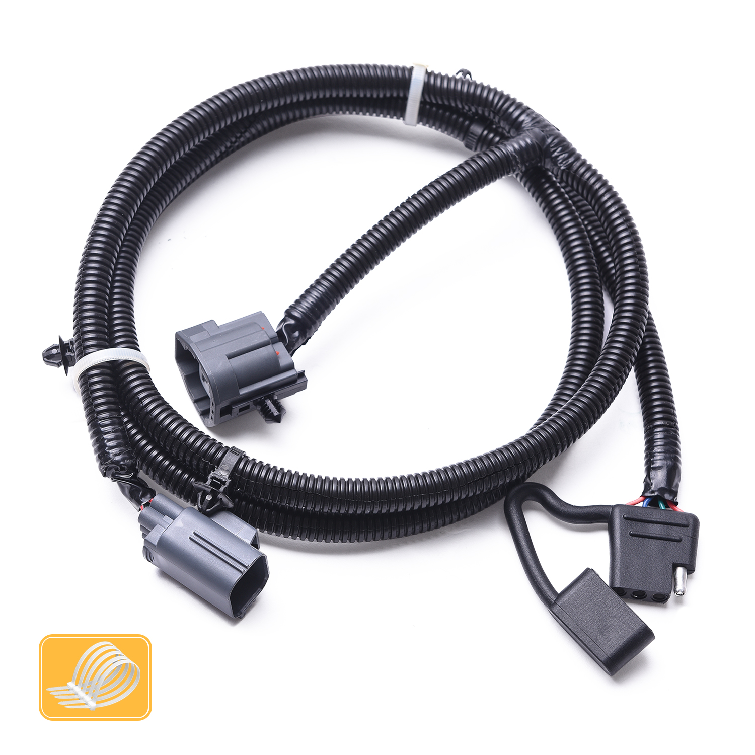 hight resolution of details about 4 way trailer tow hitch wiring harness for 2007 2016 jeep wrangler jk 2 4 door