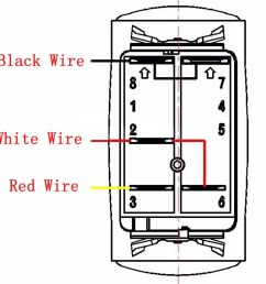 5 pins led light bar driving switch relay rocker switch wiring loom harness 12v [ 1200 x 1200 Pixel ]
