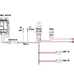 on a 12v lighted switch wiring diagram wiring diagram blogs 12 volt 3 wire switch diagram [ 1200 x 1200 Pixel ]