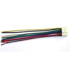 details about alpine 16 pin car stereo radio wiring wire harness lead tao [ 1200 x 1200 Pixel ]