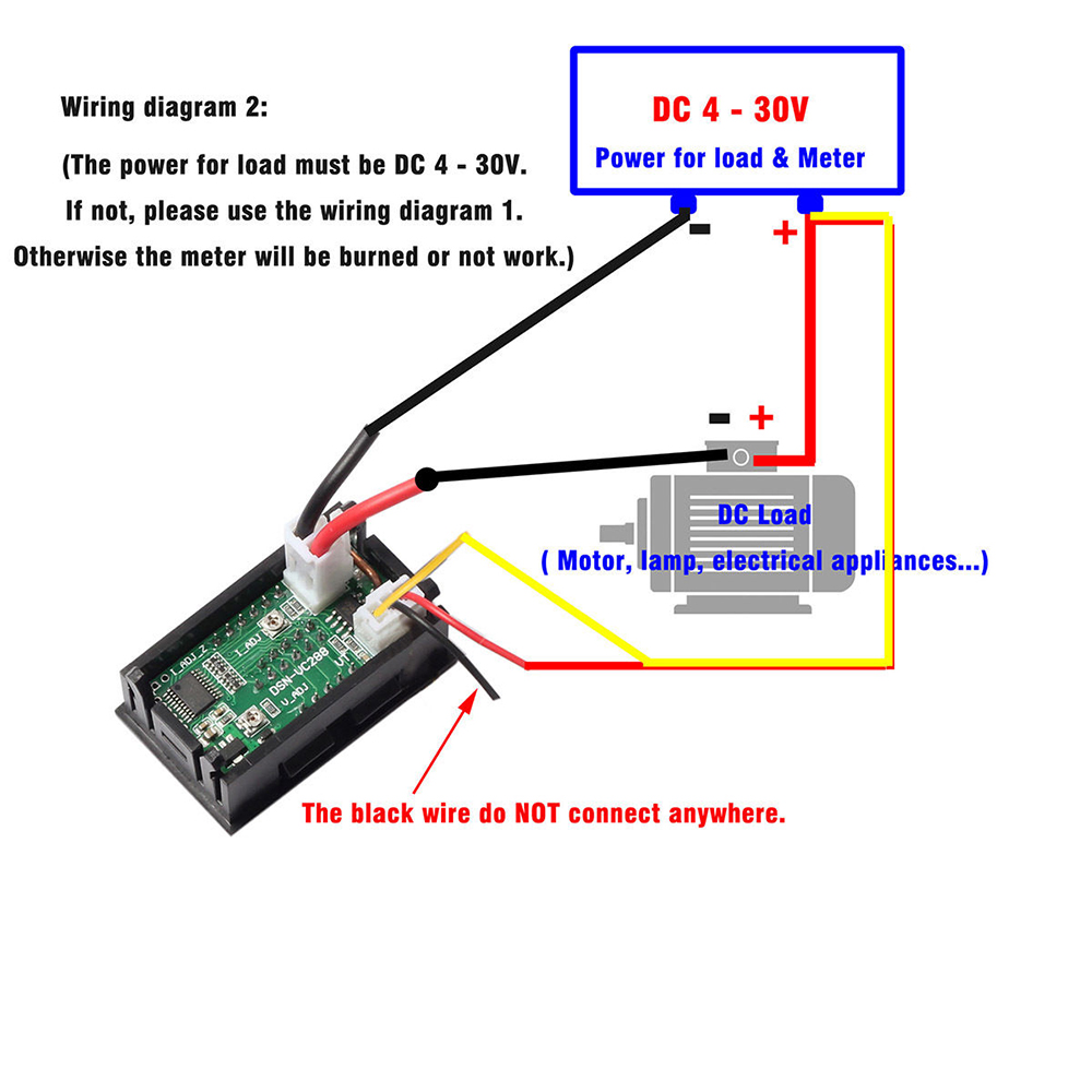 hight resolution of amp meter voltmeter wiring diagram vs wiring diagram electrical diagram ammeter mini dc 100v 10a digital