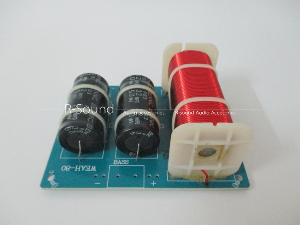 medium resolution of details about weah 80 car amp speaker passive divider crossover 200w 4 8 for8 10 12 subwoofer
