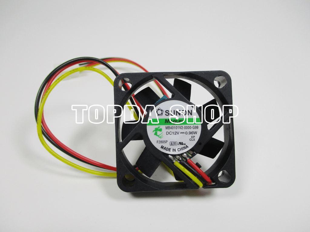 hight resolution of details about sunon mb40101v2 0000 g99 maglev cooling fan dc12v 0 96w 40x40x10mm 3pin