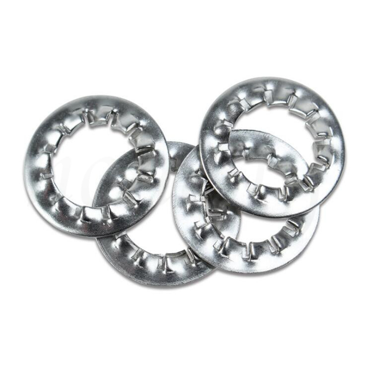 304 Stainless Steel Shakeproof Serrated Lock Washer
