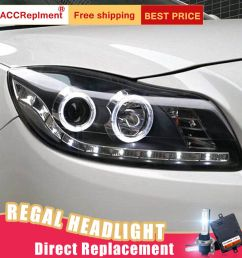 details about 2pcs for buick regal headlights assembly bi xenon lens projector led drl 11 13 [ 900 x 900 Pixel ]