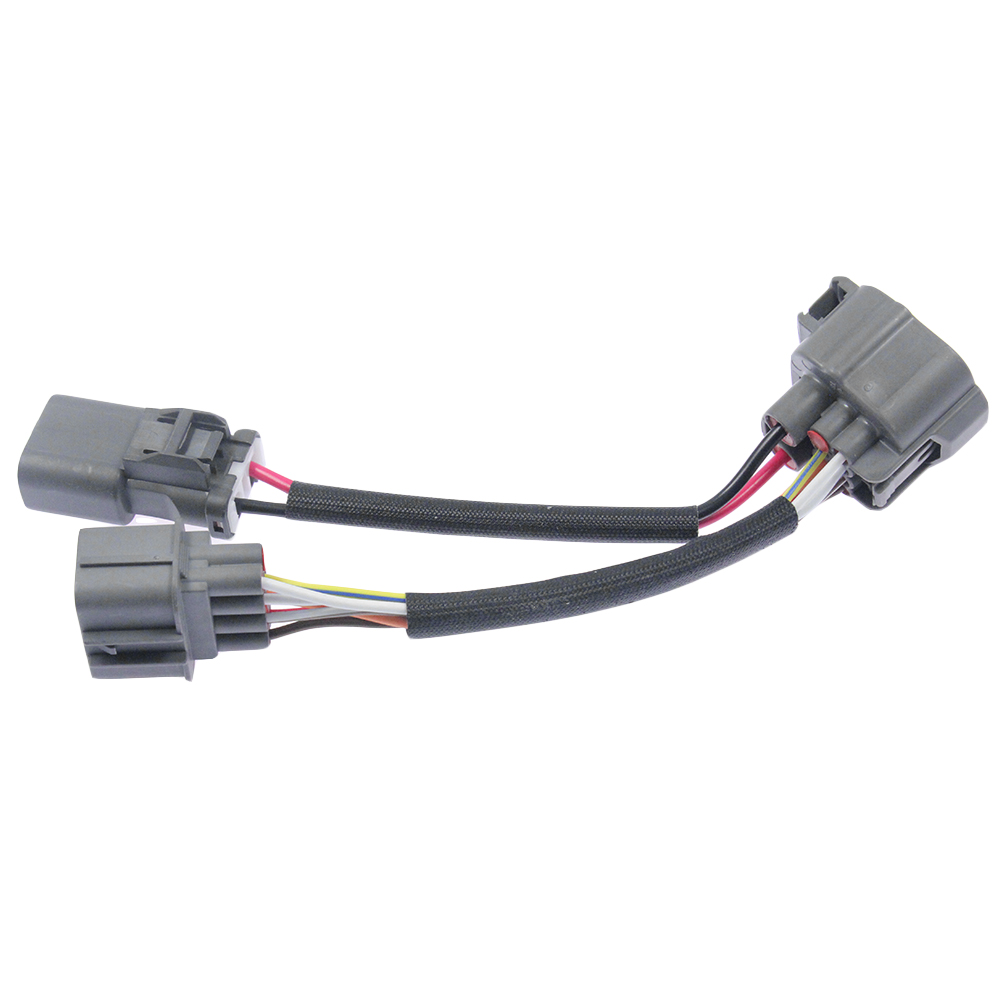 hight resolution of obd1 to obd2 10 pin distributor engine jumper swap harness for honda civic 96 98