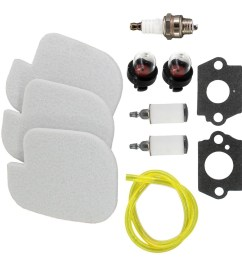 details about fuel oil air filter tune up kit for poulan craftsman chainsaw 530057925 s1970 us [ 1111 x 1111 Pixel ]