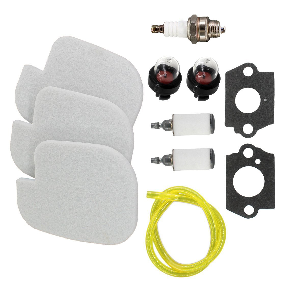 hight resolution of details about fuel oil air filter tune up kit for poulan craftsman chainsaw 530057925 s1970 us
