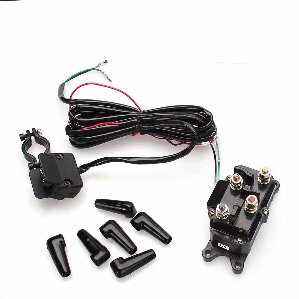 medium resolution of 12v atv utv solenoid relay contactor winch rocker thumb switch