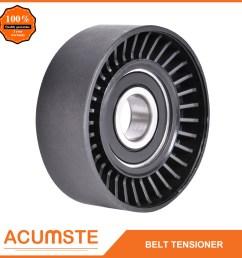 details about serpentine belt tensioner pulley for audi bmw chrysler vw jeep dodge 04854089a [ 1001 x 1001 Pixel ]