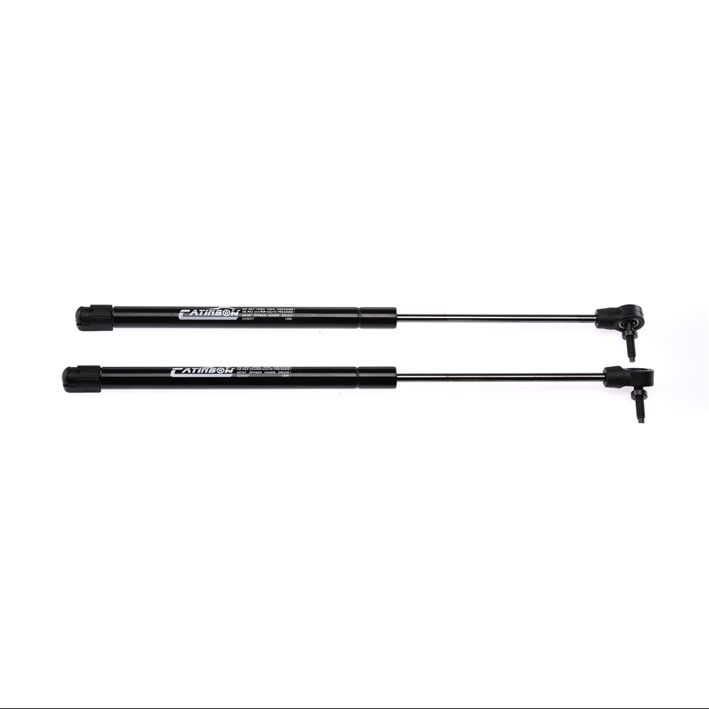 Pair Rear Window Glass Lift Supports Struts For 1999-2004