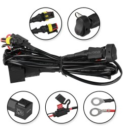 details about led fog lights 40a wiring harness switch on off for bmw r1200gs f800gs adv [ 1100 x 1100 Pixel ]