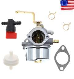 carburetor fuel filter for stens 520 956 056 320 rotary 13155 tecumseh 640260 [ 1200 x 1200 Pixel ]