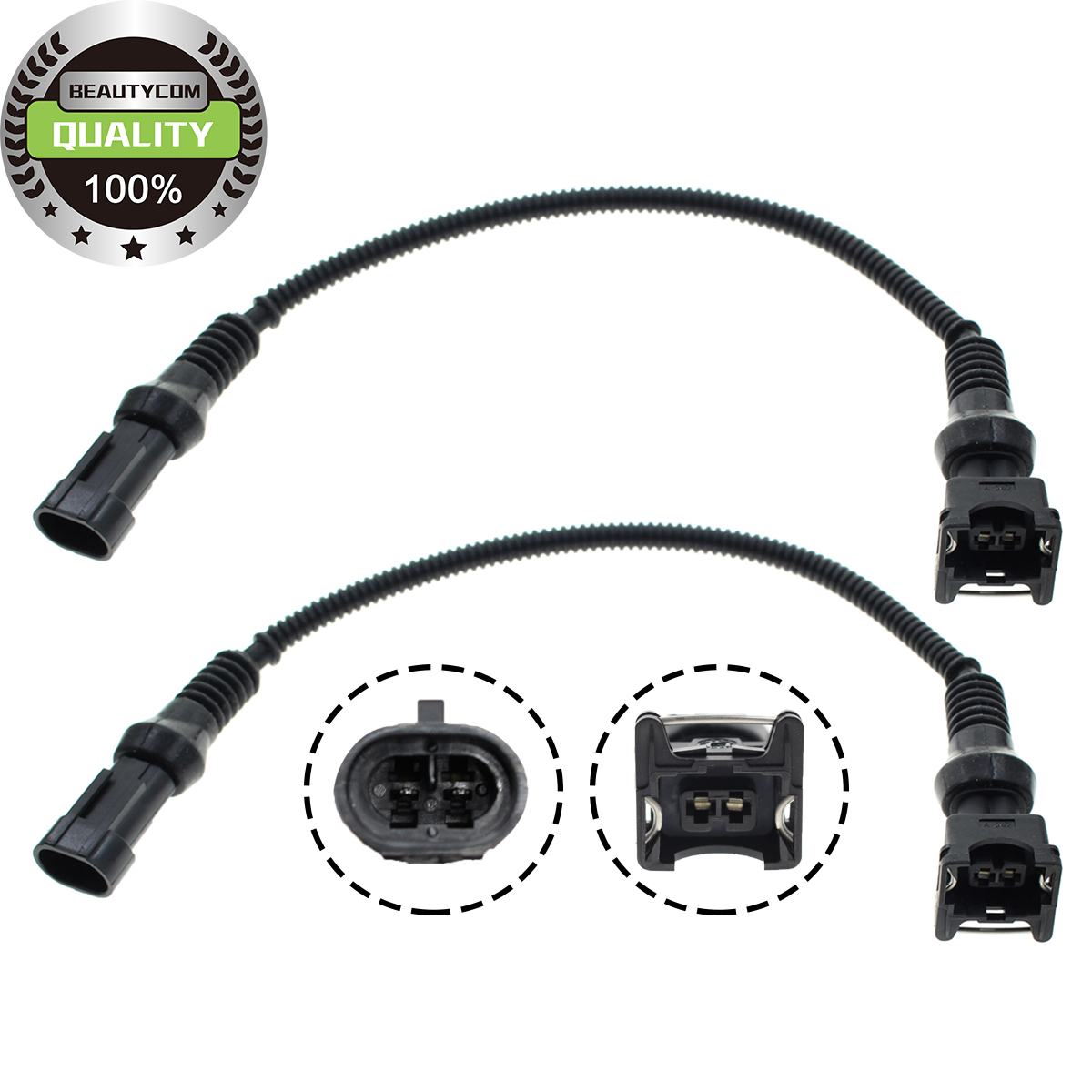 2x Fuel Injector Connectors For Polaris Ranger Rzr