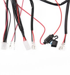led light bar wiring harness kit with fuse relay switch for off road work light [ 1500 x 1500 Pixel ]