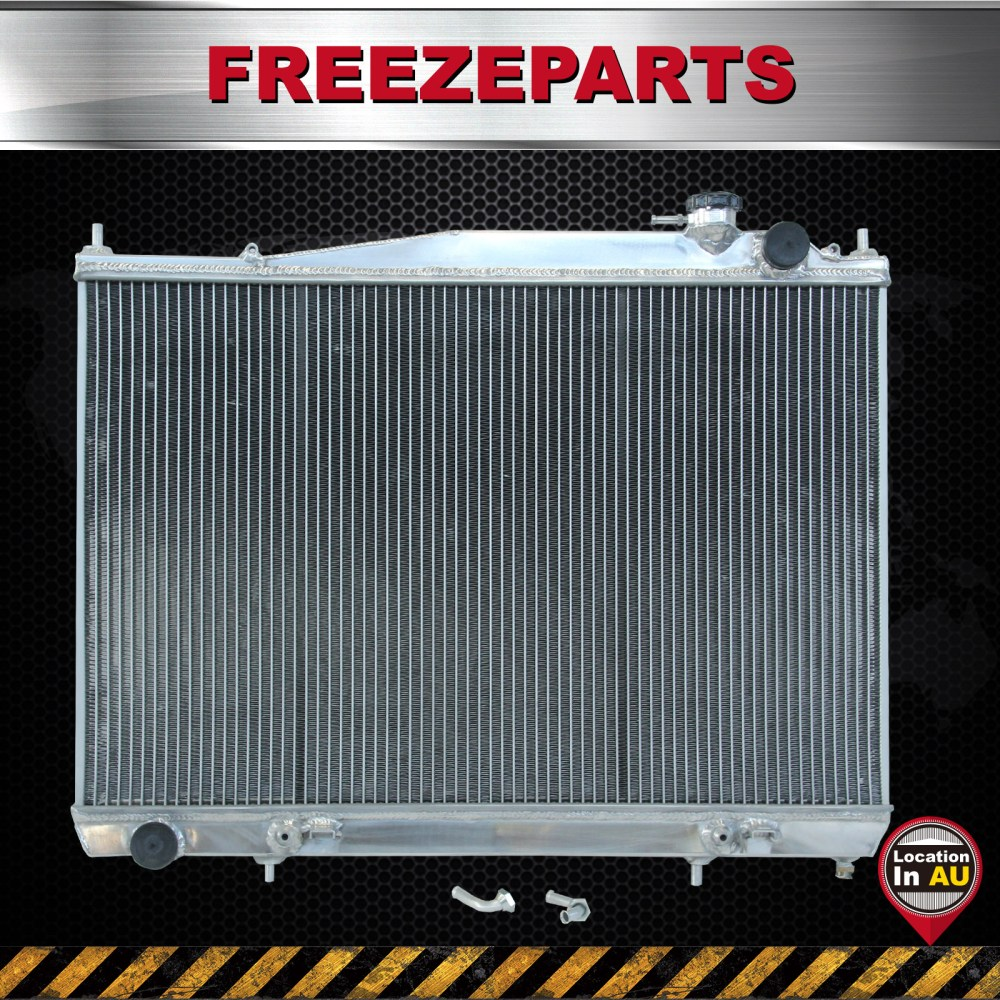 medium resolution of details about for nissan navara d22 r50 2 5l 3 0l diesel aluminum radiator 1997 2001 at mt sl