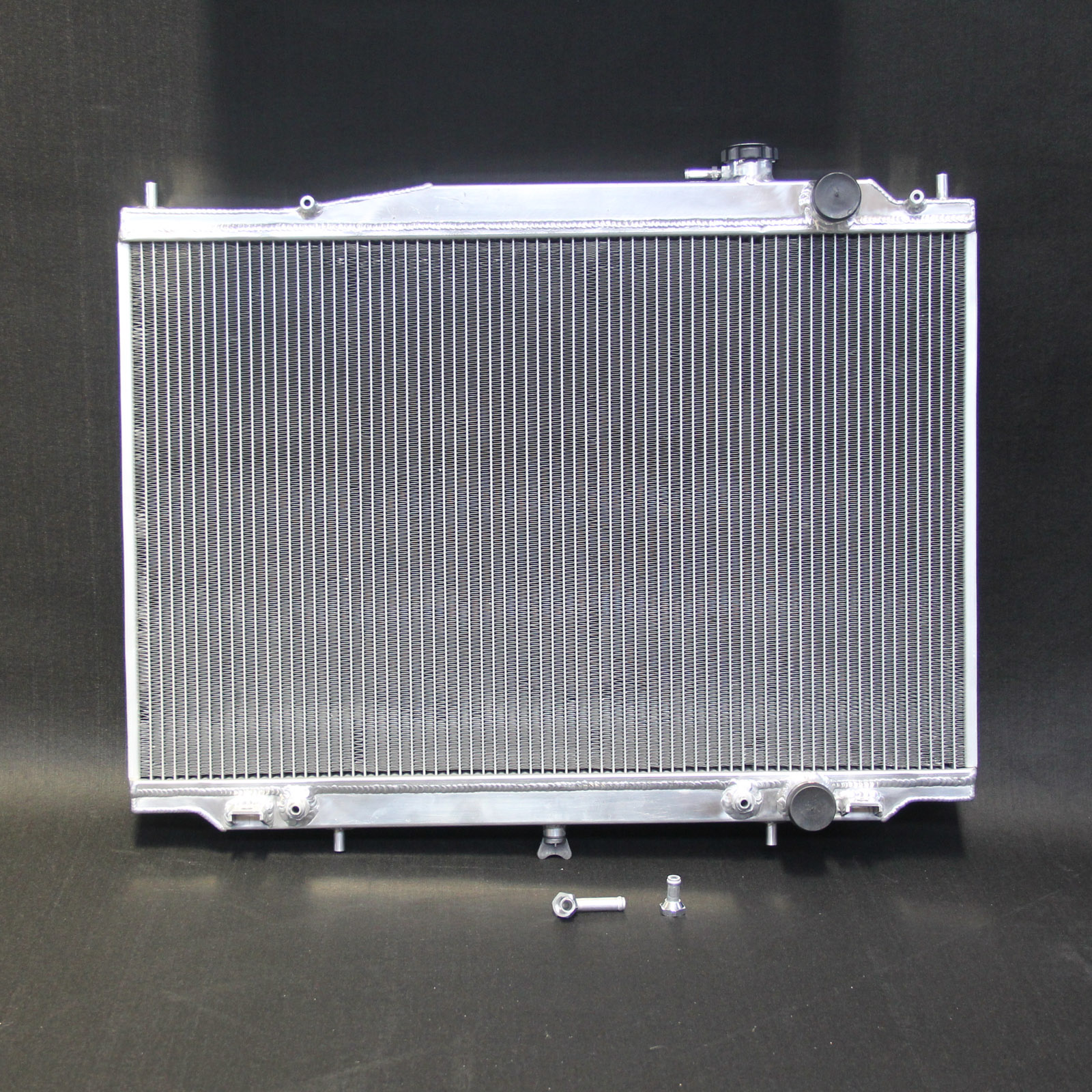 hight resolution of details about aluminum radiator for nissan navara d22 1997 05 3 0l turbo diesel 3 3l v6 petrol