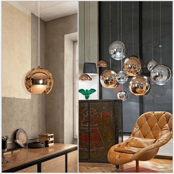 Electric Wire Bell Pendant Light Chandelier