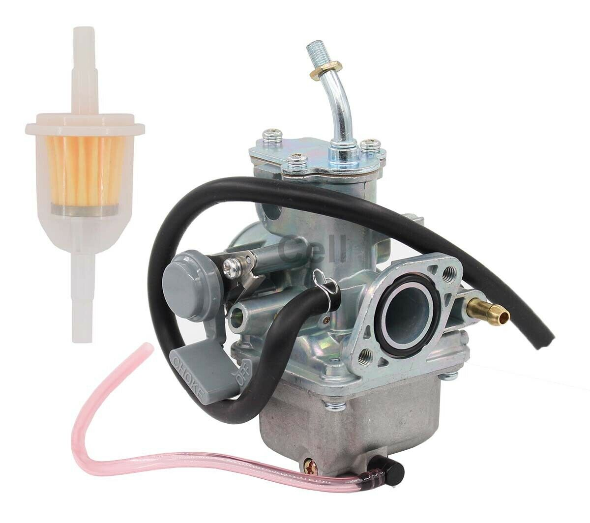 hight resolution of new carburetor for yamaha moto 4 yfm 80 moto 4 yfm80 carb w fuel filter