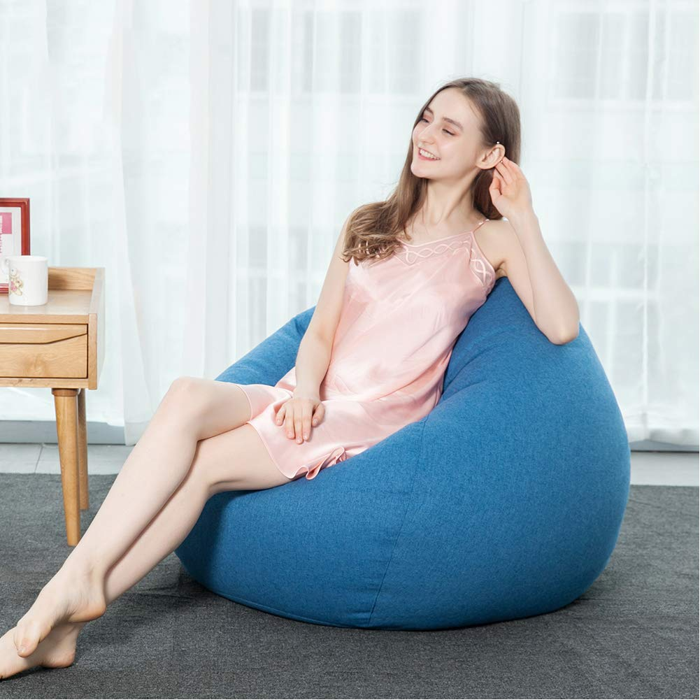 Bean Bag Chair Covers Only Details About Adult Bean Bag Chair Cover Only Kids Children Sofa Grey Indoor Gaming Lounger