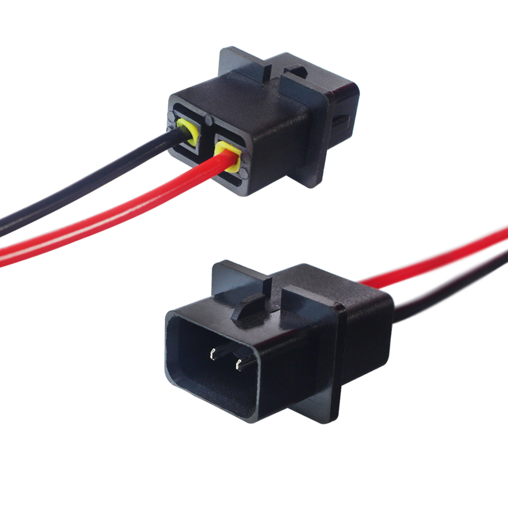 hight resolution of details about 2pcs p13w psx26 male socket extension wiring harness adapter for fog light drl