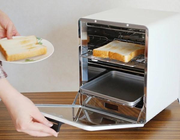 actplus   日本樂天市場: ± 0 112.84 烤麵包機烤箱立式烤箱烤麵包機廚房小工具炊具北歐設計電子產品
