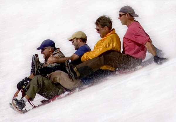 Snow Kids Toboggan Sled